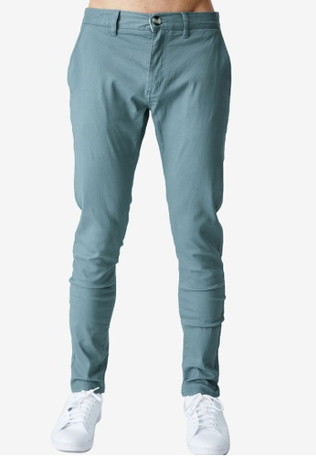 Cotton On blue Skinny Stretch Chinos 0492FAA440C866GS_1