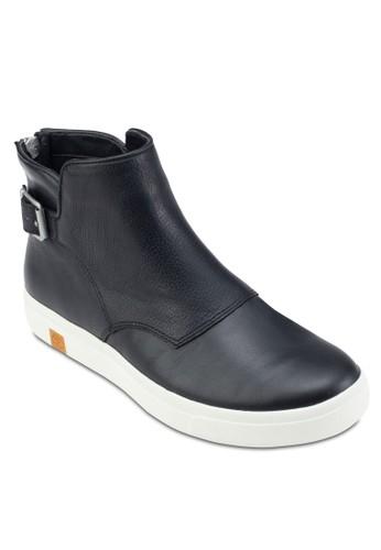 Timberland Amhezalora退貨rst Chelsea 扣環騎士短靴, 女鞋, 鞋