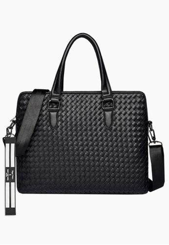 Twenty Eight Shoes Stylish Woven Faux Leather Briefcase ET9212 761B6AC071980EGS_1