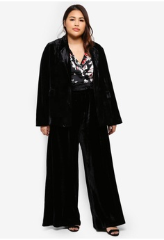 835dab20c9b 58% OFF ELVI Plus Size Velvet Trousers S  99.90 NOW S  41.90 Sizes 16 18