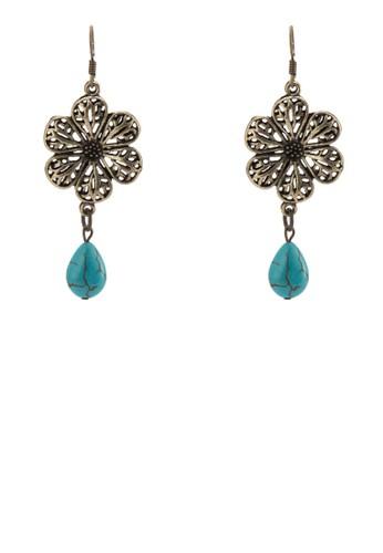 BUNGA 雕花墜esprit hk store飾耳環, 飾品配件, 飾品配件