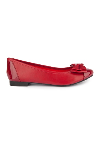 MAUD FRIZON red Ballerinas With Double Layers Bow 49597SHD550629GS_1
