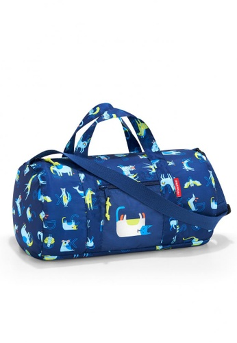Reisenthel Mini Maxi Dufflebag S Kids ABC Friends Blue C38B2KC8BB8956GS_1