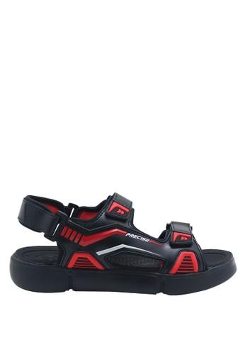 Precise black Precise Cartenz SG Sandal Gunung - Black/Red 53BD8SH8462311GS_1
