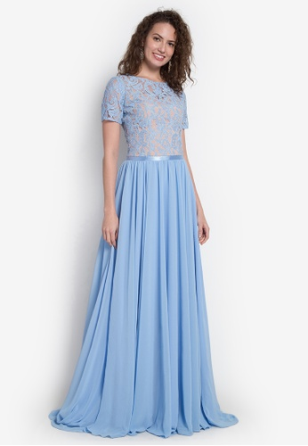c38b0176f3fa Shop Fatima Beltran Clothing Line Long Gown Online on ZALORA Philippines