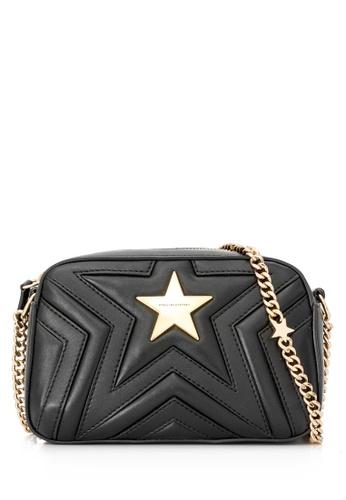 STELLA MCCARTNEY black Pre-Owned Stella McCartney Stella Star Shoulder Bag 96919AC12CC8CFGS_1