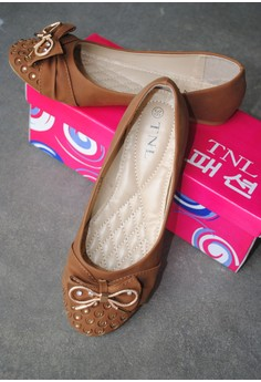 TNL Abby Ballet Shoes (Brown)