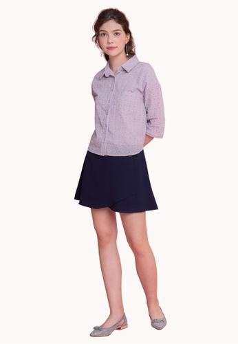 L'zzie purple LZZIE JENNA TOP - PURPLE 4B4A6AA942382AGS_1