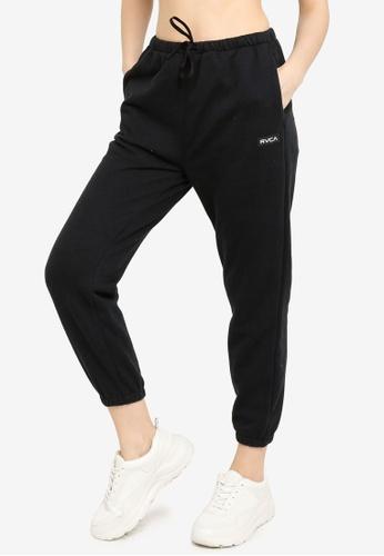RVCA black VA Essential Jogger Pants 38EA9AA3BE17D9GS_1