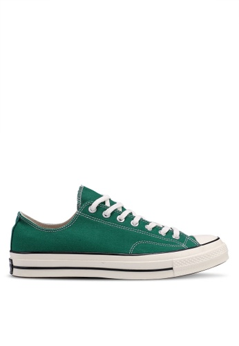 Converse green Chuck Taylor All Star 70 Vintage Canvas Ox Sneakers 099A4SHEFE16D9GS_1
