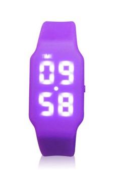 Silicone Watch 8GB USB Flash Drive - Purple