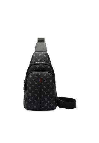 Playboy black Logo Crossbody Bag 55FDEACC662348GS_1