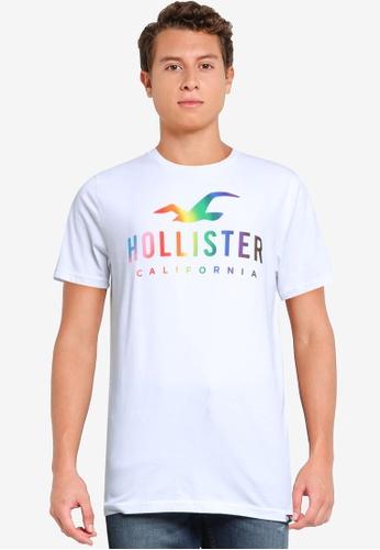 Hollister 白色 短袖Pride Instore T恤 84614AAB60FFD4GS_1