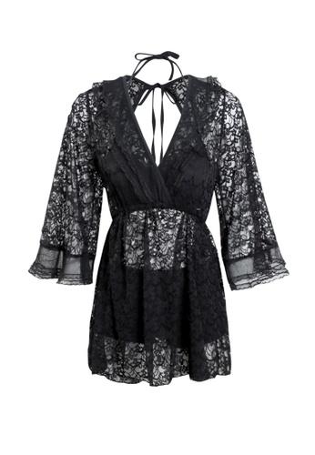 Its Me black (3PCS) Sexy Lace Bikini Swimsuit 6C056US7F312AAGS_1