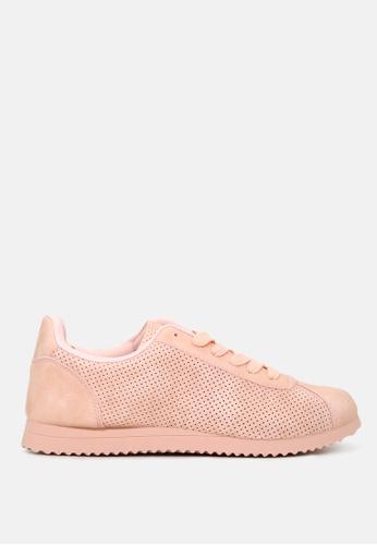 London Rag 米褐色 缕空休闲运动鞋 9C81FSH275A916GS_1