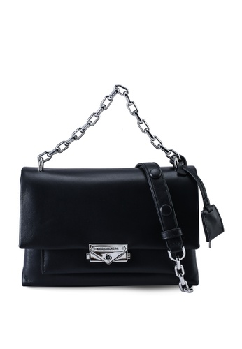 MICHAEL KORS black Cece M Shoulder Bag (zt) 4E527ACA296EA7GS_1