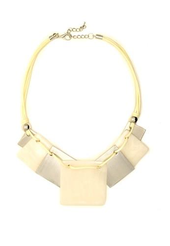 Istana Accessories white Kalung Maysa Fashion Neklace - Putih 93EC2ACFD5FAF5GS_1
