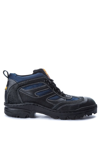 Caterpillar black and blue RS-8888 Boots CA367SH06OORPH_1