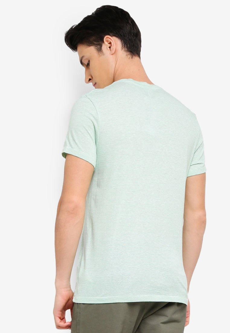 Barnhill Shirt T Green Wills Jack Stripe 1qOwTY