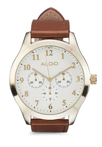Besnard 皮革esprit 香港 outlet手錶, 錶類, 男裝手錶