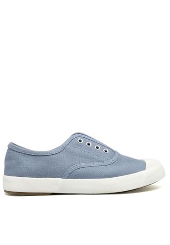 Twenty Eight Shoes blue Canvas Elastic Shoes TW446SH24ITNHK_1