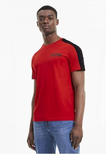 Puma red Modern Sports Men's Tee 43DE7AA6959FB1GS_1