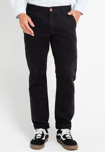 Lois Jeans black Long Pant Twill LO391AA0VPCHID_1