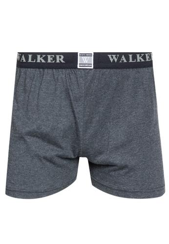 Walker Underwear grey Kinetic Shorts 97BF1US35B6B72GS_1