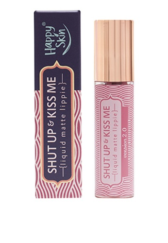 Happy Skin pink Shut Up & Kiss Me Liquid Matte Lippie 70BD2BEB96CC03GS_1