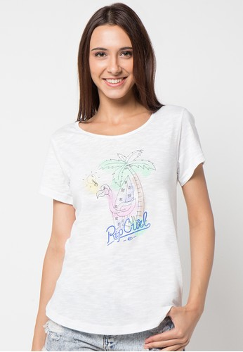 Rip Curl Miami Flamingo Women Tee