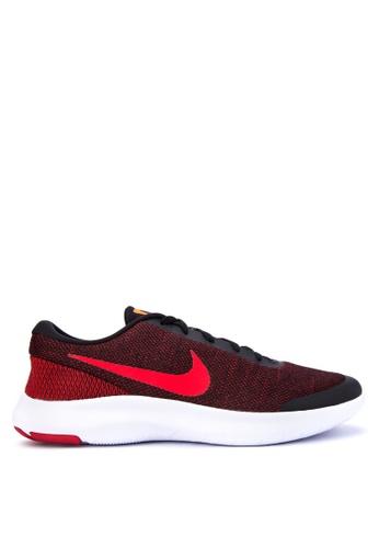 Nike black and red Men's Nike Flex Experience RN 7 Running Shoes NI126SH0STSOMY_1