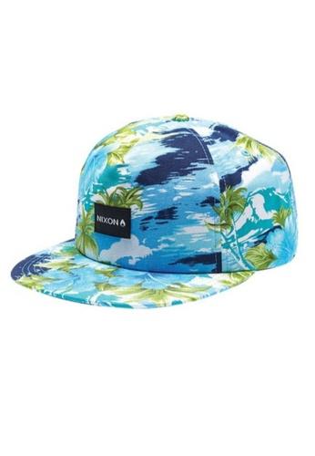 Nixon blue Nixon Tropics Snap Back Hat Multi colour  - C2332290 A52CCAC1715C59GS_1