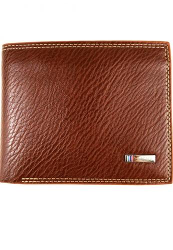 Lucky JX brown Bi-Fold Wallet A3187AC09A367BGS_1