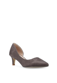 bd483c2801c3 30% OFF Nose Pointed Half D Orsay Heel Pumps S  39.90 NOW S  27.90 Sizes 35  36 37 38 39