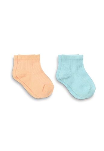 APAIR pink and orange and blue and multi Pastel Socks 24B18KA281E096GS_1