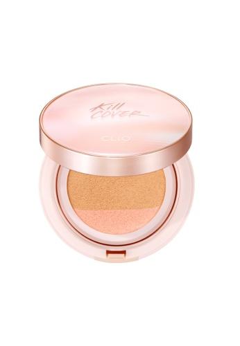 Clio beige CLIO Kill Cover Pink Glow Cream Cushion SPF40++ [4 Shades to Choose] F2E60BEC396585GS_1
