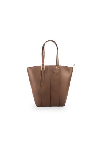 Samuel Ashley brown Sienna Shopper Bag - Brown 84D7AACD9E4FC0GS_1
