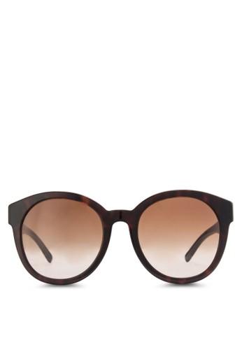 玳瑁esprit hk分店橢圓太陽眼鏡, 飾品配件, 飾品配件