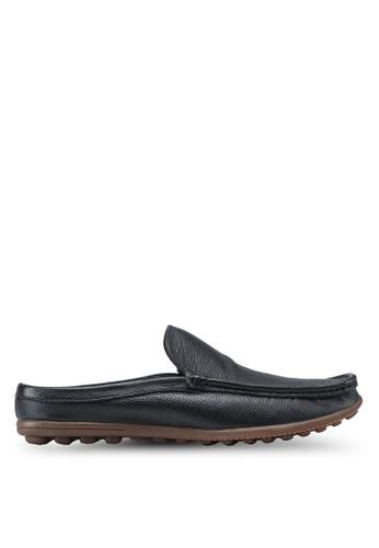 Obermain black Marten Slip-Ons OB115SH26SYNMY_1