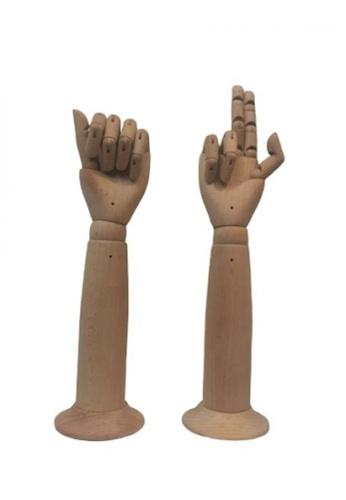 Maison Curio Display Wooden Hand  Size L 29BA6HLECDB9A5GS_1