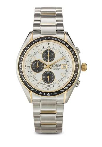 Ef-503esprit outlet 台中Sg-7Avdf 計時功能男性手錶, 錶類, 飾品配件