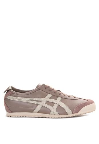 Onitsuka Tiger grey and brown Mexico 66 Sneakers ON625SH28KFJPH_1