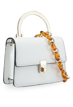 696c81e4fcc4 TOPSHOP Champagne Cross Body Bag RM 159.00. Sizes One Size