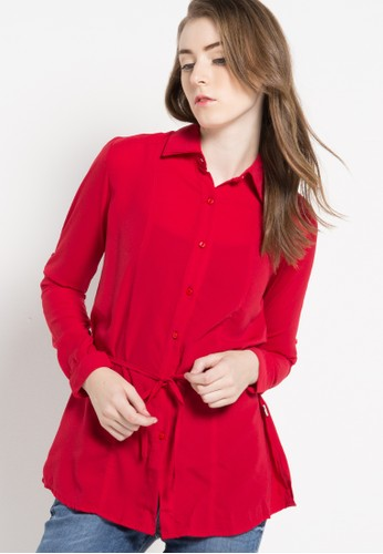 LOIS JEANS red Long Sleeve Shirt LO391AA61KTIID_1