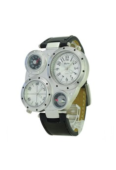 OULM Military Army Watch With Compass