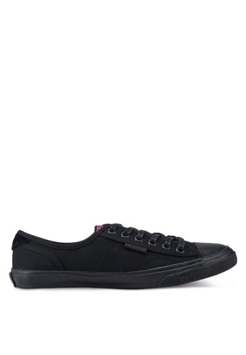 Superdry black Low Pro Sneakers 2DA4CSHE5C394FGS_1