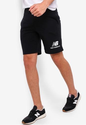 6b265dae Buy New Balance Essentials Stacked Logo Shorts   ZALORA HK