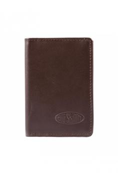 a5b8194bc5a2 Big Skinny Wallets brown Leather Tri-fold Wallet 63F34AC8841106GS 1