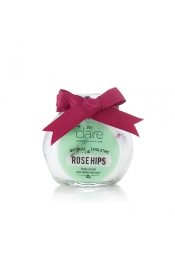 Claire Organics Whitening Rose Hips Scrub with French Sea Salt CL318BE04HAXMY_1