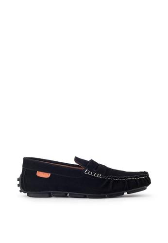 Navara black Sean Black Driving Shoes 321E7SH6318683GS_1